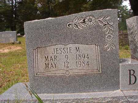 BROWN, JESSIE M - Columbia County, Arkansas | JESSIE M BROWN - Arkansas Gravestone Photos