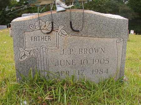 BROWN, J P - Columbia County, Arkansas | J P BROWN - Arkansas Gravestone Photos