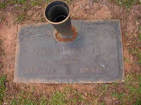 BROWN, JR, JOHN H - Columbia County, Arkansas | JOHN H BROWN, JR - Arkansas Gravestone Photos