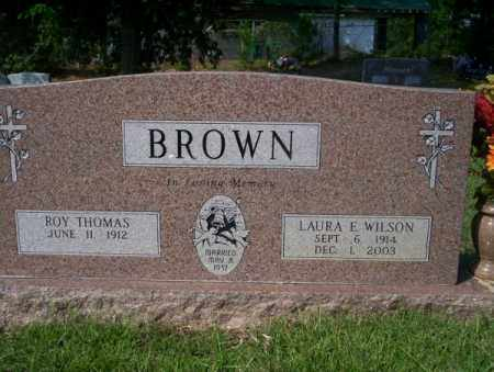 WILSON BROWN, LAURA E - Columbia County, Arkansas | LAURA E WILSON BROWN - Arkansas Gravestone Photos
