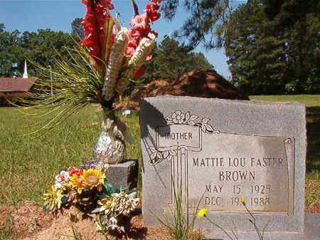 EASTER BROWN, MATTIE LOU - Columbia County, Arkansas | MATTIE LOU EASTER BROWN - Arkansas Gravestone Photos