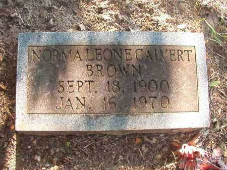 BROWN, NORMA LEONE - Columbia County, Arkansas | NORMA LEONE BROWN - Arkansas Gravestone Photos