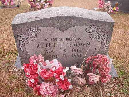 BROWN, RUTHELL - Columbia County, Arkansas | RUTHELL BROWN - Arkansas Gravestone Photos