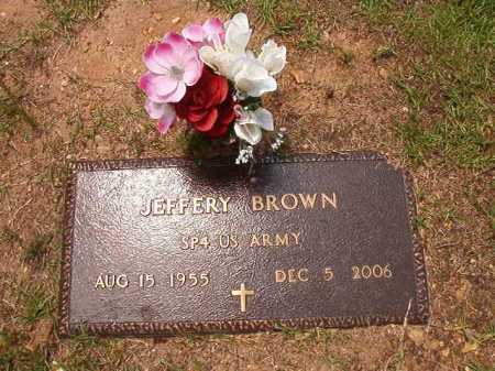 BROWN (VETERAN), JEFFERY - Columbia County, Arkansas | JEFFERY BROWN (VETERAN) - Arkansas Gravestone Photos
