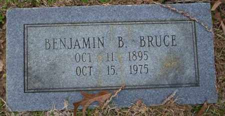 BRUCE, BENJAMIN B - Columbia County, Arkansas | BENJAMIN B BRUCE - Arkansas Gravestone Photos