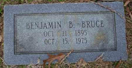 BRUCE, BENJAMIN B - Columbia County, Arkansas | BENJAMIN B BRUCE - Arkansas Gravestone Photos