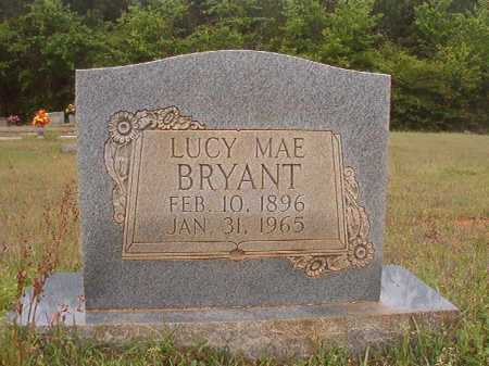 BRYANT, LUCY MAE - Columbia County, Arkansas | LUCY MAE BRYANT - Arkansas Gravestone Photos