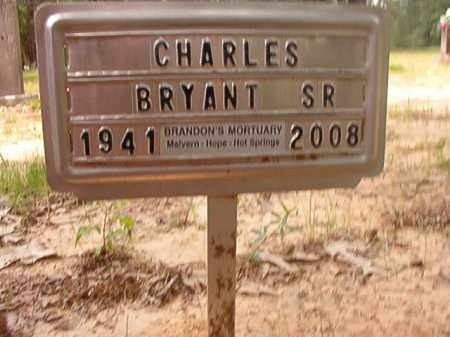 BRYANT, SR, CHARLES - Columbia County, Arkansas | CHARLES BRYANT, SR - Arkansas Gravestone Photos