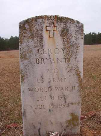 BRYANT (VETERAN WWII), LEROY - Columbia County, Arkansas | LEROY BRYANT (VETERAN WWII) - Arkansas Gravestone Photos