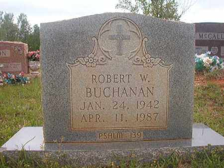 BUCHANAN, ROBERT W - Columbia County, Arkansas | ROBERT W BUCHANAN - Arkansas Gravestone Photos