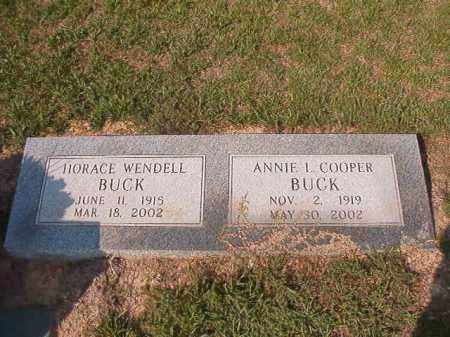 COOPER BUCK, ANNIE L - Columbia County, Arkansas | ANNIE L COOPER BUCK - Arkansas Gravestone Photos