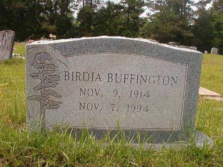BUFFINGTON, BIRDIA - Columbia County, Arkansas | BIRDIA BUFFINGTON - Arkansas Gravestone Photos