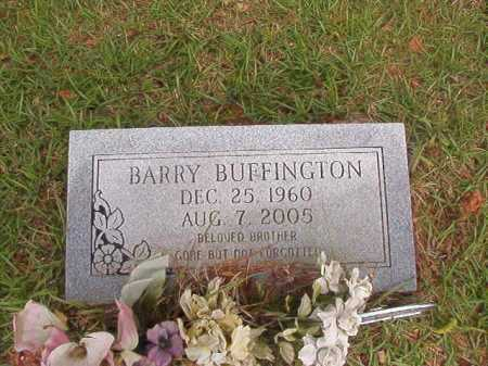 BUFFINGTON, BARRY - Columbia County, Arkansas | BARRY BUFFINGTON - Arkansas Gravestone Photos