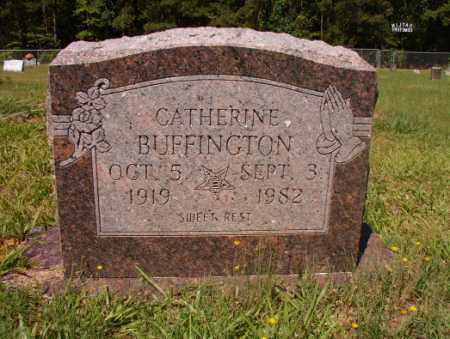 BUFFINGTON, CATHERINE - Columbia County, Arkansas | CATHERINE BUFFINGTON - Arkansas Gravestone Photos