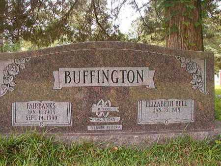 BUFFINGTON, FAIRBANKS - Columbia County, Arkansas | FAIRBANKS BUFFINGTON - Arkansas Gravestone Photos
