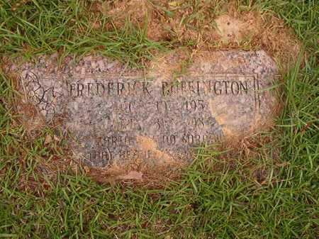 BUFFINGTON, FREDERICK - Columbia County, Arkansas | FREDERICK BUFFINGTON - Arkansas Gravestone Photos
