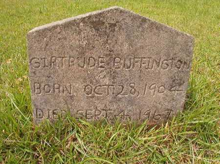 BUFFINGTON, GIRTRUDE - Columbia County, Arkansas | GIRTRUDE BUFFINGTON - Arkansas Gravestone Photos
