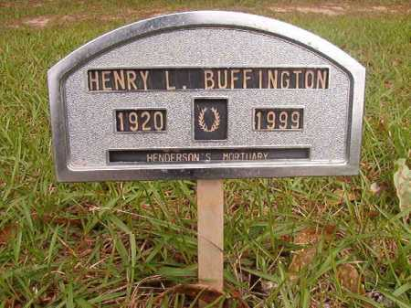 BUFFINGTON, HENRY L - Columbia County, Arkansas | HENRY L BUFFINGTON - Arkansas Gravestone Photos