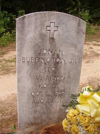 BUFFINGTON, JR (VETERAN KOR), JONAH - Columbia County, Arkansas | JONAH BUFFINGTON, JR (VETERAN KOR) - Arkansas Gravestone Photos