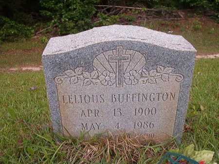 BUFFINGTON, LELIOUS - Columbia County, Arkansas | LELIOUS BUFFINGTON - Arkansas Gravestone Photos