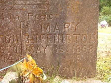 BUFFINGTON, MARY - Columbia County, Arkansas | MARY BUFFINGTON - Arkansas Gravestone Photos