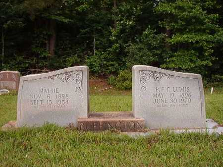 BUFFINGTON, MATTIE - Columbia County, Arkansas | MATTIE BUFFINGTON - Arkansas Gravestone Photos