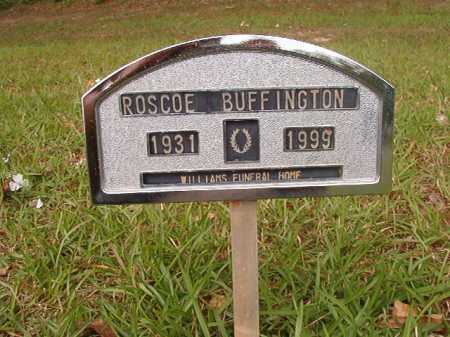 BUFFINGTON, ROSCOE - Columbia County, Arkansas | ROSCOE BUFFINGTON - Arkansas Gravestone Photos