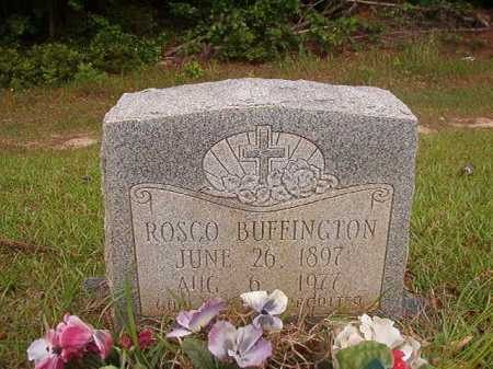 BUFFINGTON, ROSCO - Columbia County, Arkansas | ROSCO BUFFINGTON - Arkansas Gravestone Photos
