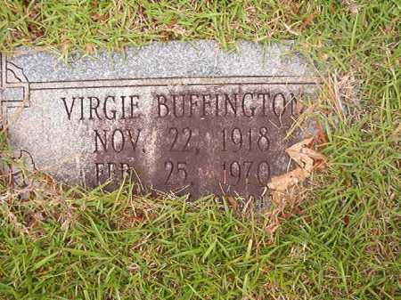 BUFFINGTON, VIRGIE - Columbia County, Arkansas | VIRGIE BUFFINGTON - Arkansas Gravestone Photos