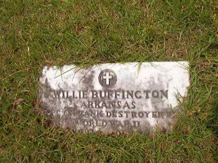 BUFFINGTON (VETERAN WWII), WILLIE - Columbia County, Arkansas | WILLIE BUFFINGTON (VETERAN WWII) - Arkansas Gravestone Photos