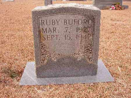 BUFORD, RUBY - Columbia County, Arkansas | RUBY BUFORD - Arkansas Gravestone Photos