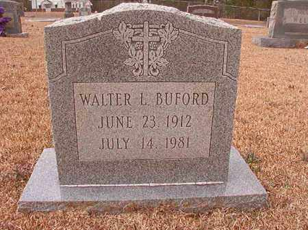 BUFORD, WALTER L - Columbia County, Arkansas | WALTER L BUFORD - Arkansas Gravestone Photos