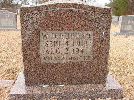 BUFORD, W D - Columbia County, Arkansas | W D BUFORD - Arkansas Gravestone Photos