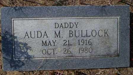BULLOCK, AUDA M - Columbia County, Arkansas | AUDA M BULLOCK - Arkansas Gravestone Photos