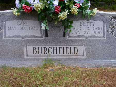 BURCHFIELD, BETTY - Columbia County, Arkansas | BETTY BURCHFIELD - Arkansas Gravestone Photos