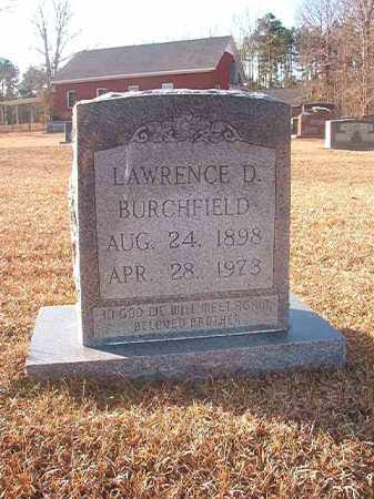 BURCHFIELD, LAWRENCE D - Columbia County, Arkansas | LAWRENCE D BURCHFIELD - Arkansas Gravestone Photos