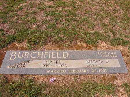 BURCHFIELD, RUSSELL - Columbia County, Arkansas | RUSSELL BURCHFIELD - Arkansas Gravestone Photos