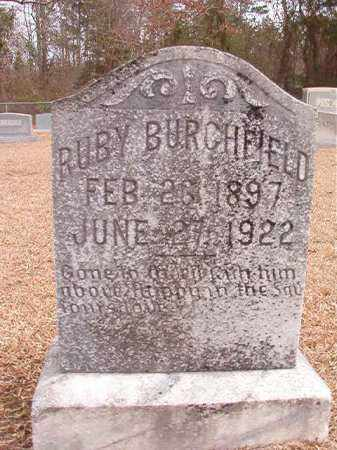 BURCHFIELD, RUBY - Columbia County, Arkansas | RUBY BURCHFIELD - Arkansas Gravestone Photos