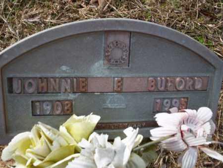 BUFORD, JOHNNIE E - Columbia County, Arkansas   JOHNNIE E BUFORD - Arkansas Gravestone Photos