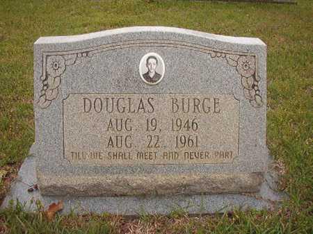 BURGE, DOUGLAS - Columbia County, Arkansas | DOUGLAS BURGE - Arkansas Gravestone Photos