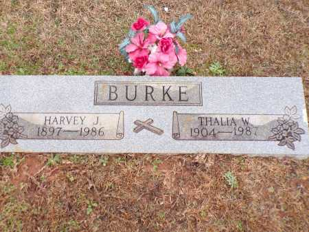 BURKE, THALIA W - Columbia County, Arkansas | THALIA W BURKE - Arkansas Gravestone Photos