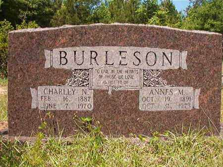 BURLESON, CHARLEY N - Columbia County, Arkansas | CHARLEY N BURLESON - Arkansas Gravestone Photos