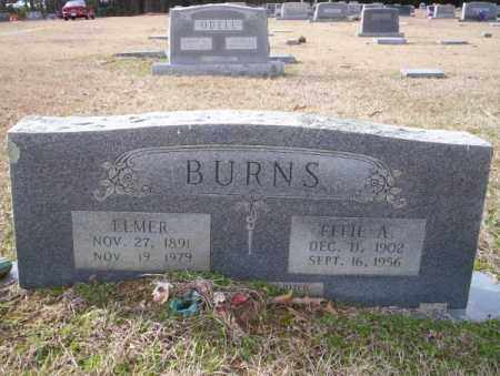 BURNS, ELMER - Columbia County, Arkansas | ELMER BURNS - Arkansas Gravestone Photos