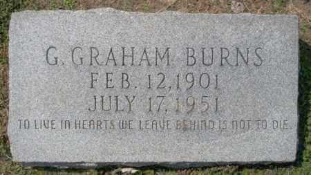 BURNS, G GRAHAM - Columbia County, Arkansas | G GRAHAM BURNS - Arkansas Gravestone Photos