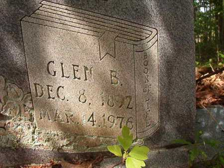 BURNS, GLEN B - Columbia County, Arkansas | GLEN B BURNS - Arkansas Gravestone Photos