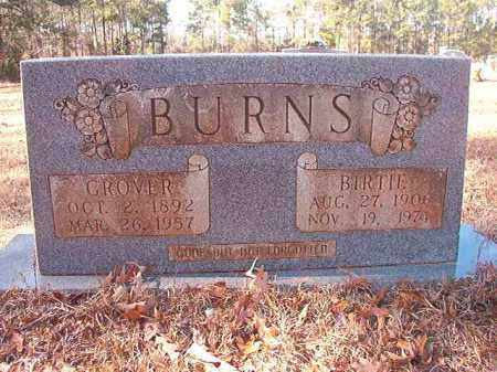 BURNS, GROVER - Columbia County, Arkansas | GROVER BURNS - Arkansas Gravestone Photos