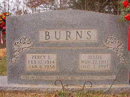 BURNS, PERCY L - Columbia County, Arkansas | PERCY L BURNS - Arkansas Gravestone Photos