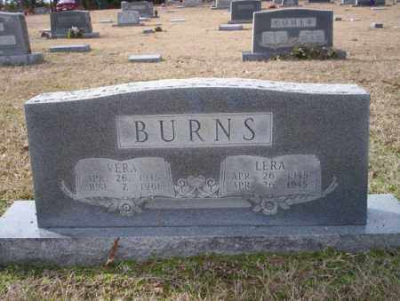 BURNS, LERA - Columbia County, Arkansas | LERA BURNS - Arkansas Gravestone Photos