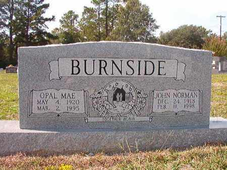 BURNSIDE, OPAL MAE - Columbia County, Arkansas | OPAL MAE BURNSIDE - Arkansas Gravestone Photos