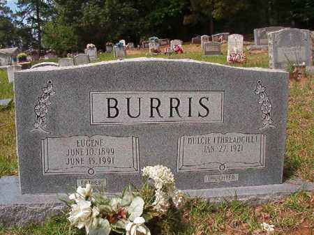 BURRIS, EUGENE - Columbia County, Arkansas | EUGENE BURRIS - Arkansas Gravestone Photos